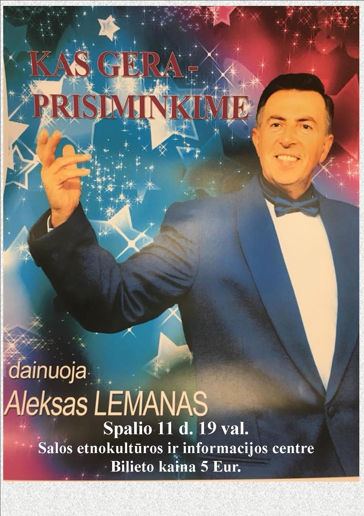 lemano koncertas
