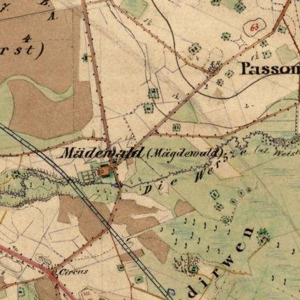 1860 m. žemėlapis