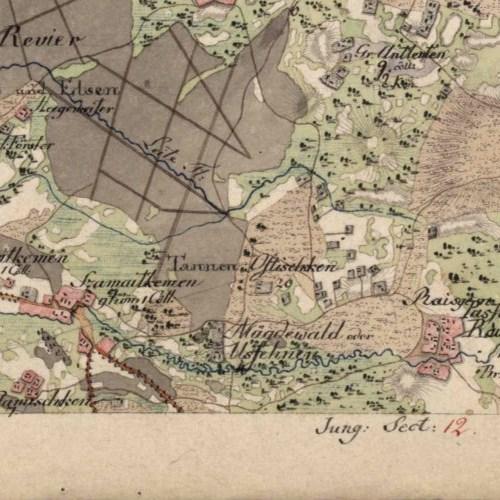 1802 m. žemėlapis